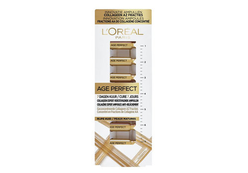 L'Oréal Paris Age Perfect Verstevigende Collageen Ampullen