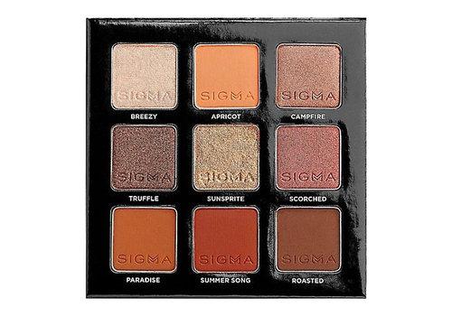 Sigma On The Go Fiery Eyeshadow Palette