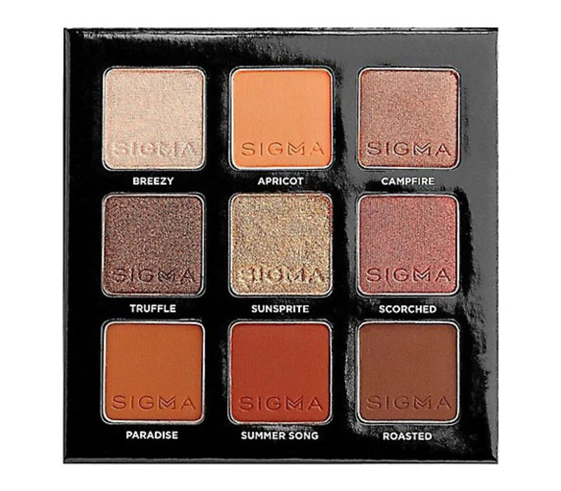 Sigma On The Go Fiery Eyeshadow Palette