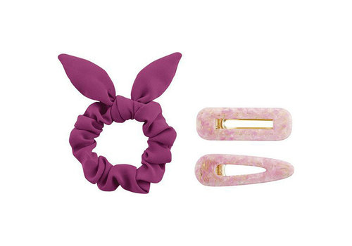 Essence PinkandProud Unstoppable Scrunchie & Hairclips