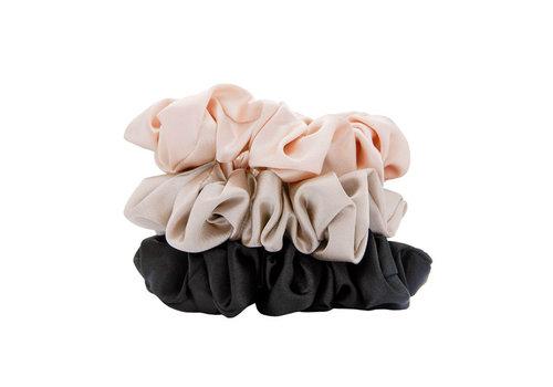 W7 Cosmetics Silky Knots Hair Scrunchies 3 pcs