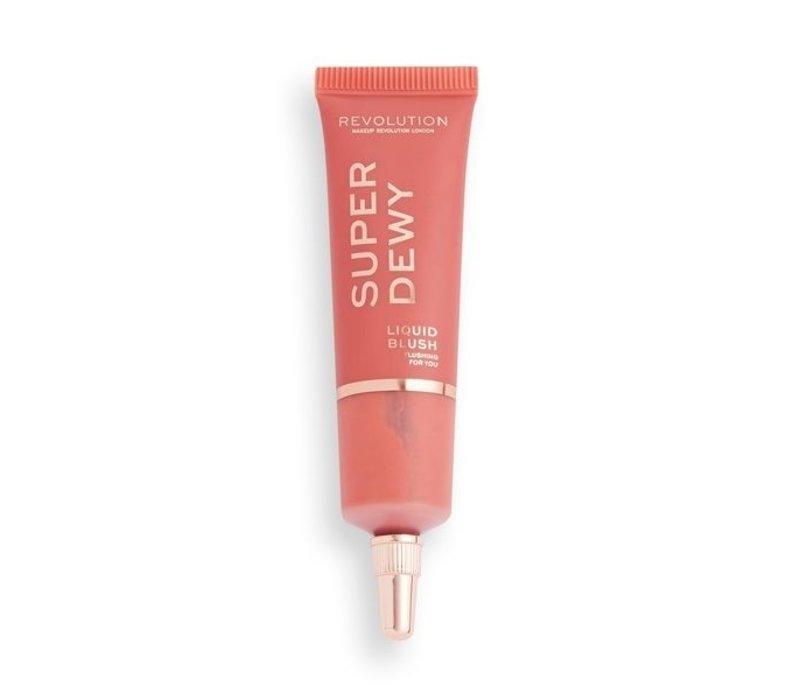 Makeup Revolution Superdewy Liquid Blush Flushing For You