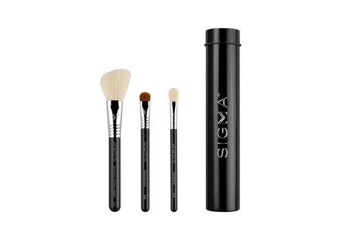 Sigma Essential Trio Brush Set Black