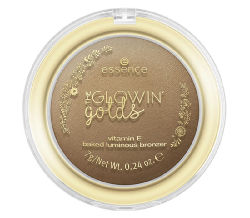 Essence The Glowin Golds Vitamin E Baked Luminous Bronzer 02
