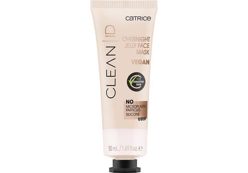 Catrice Clean ID Overnight Jelly Face Mask
