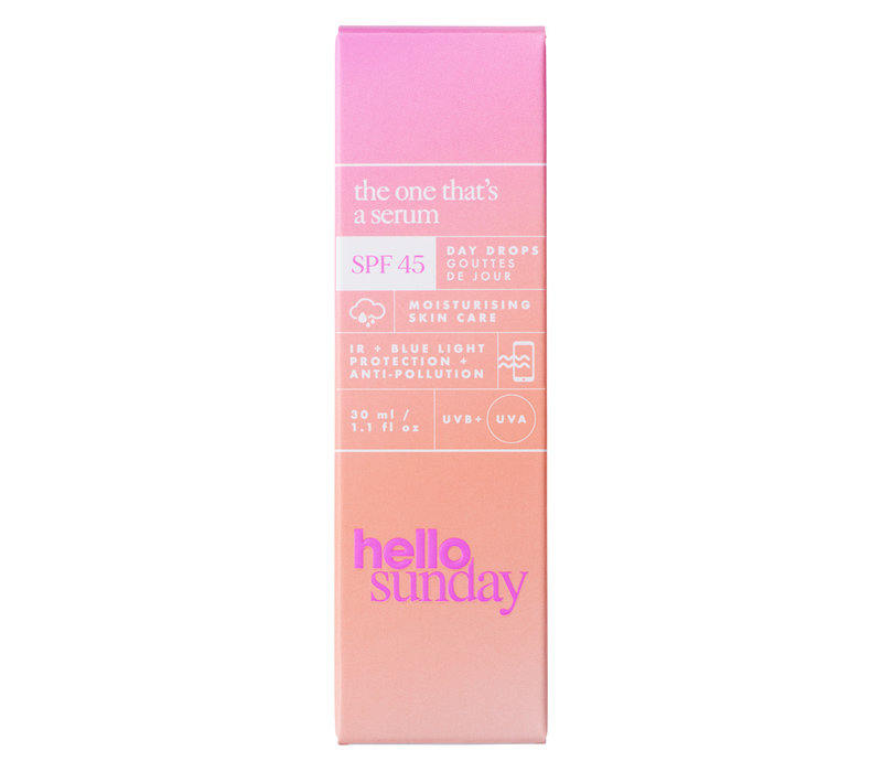 Hello Sunday The One That's A Serum