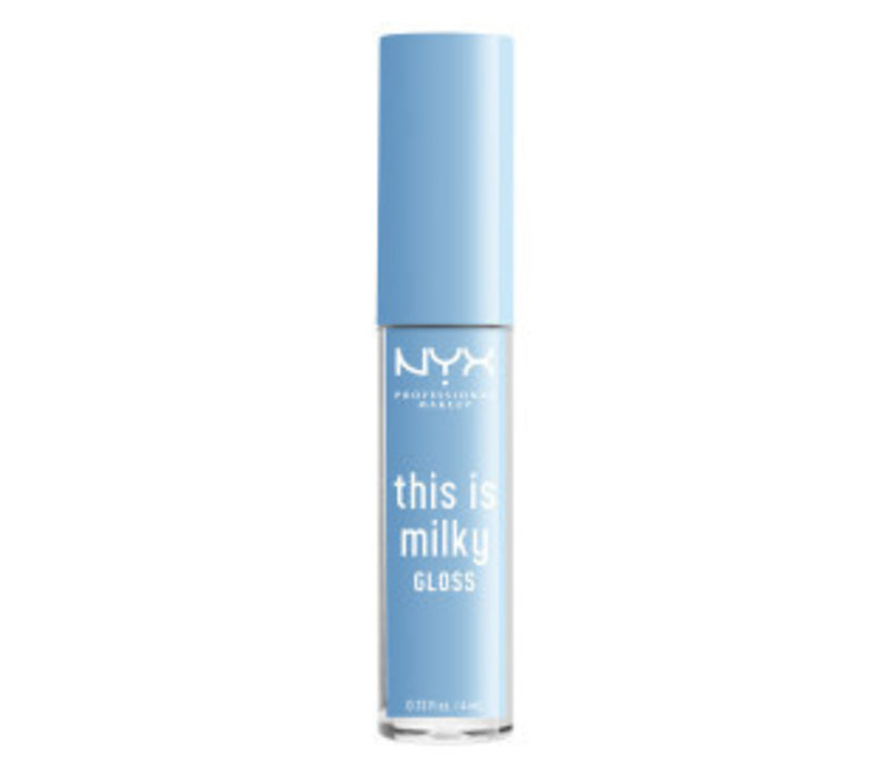 NYX Professional Makeup This is Milky Gloss Fo-Moo