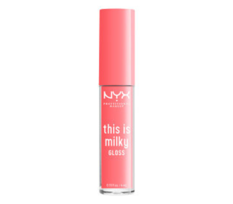 NYX Professional Makeup This is Milky Gloss Moo-dy Peach