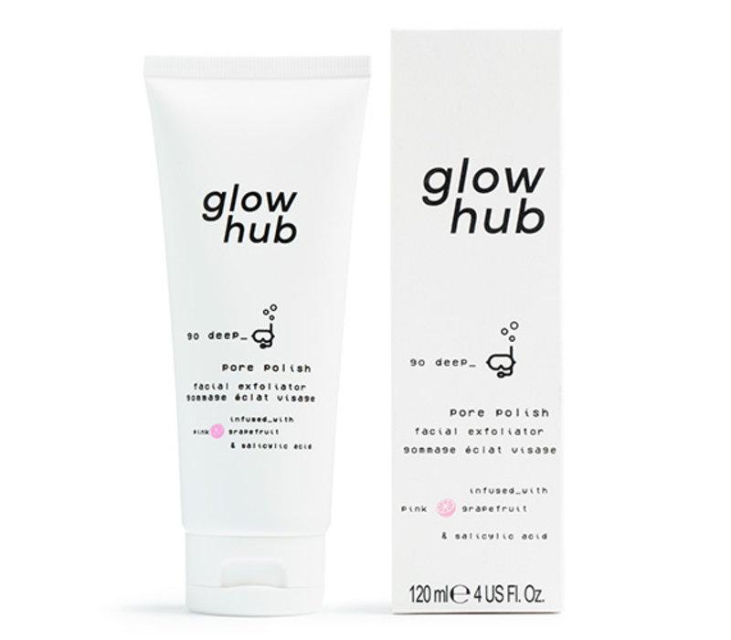 Glow Hub Pore Polish Facial Exfoliator