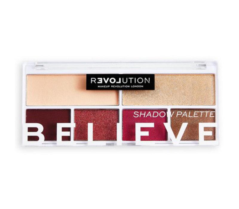 Revolution Relove Colour Play Believe Shadow Palette
