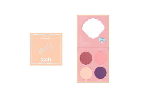Soda Eyeshadow Palette #letsbemermaid 002