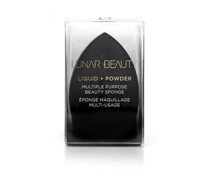 Lunar Beauty Multipurpose Beauty Sponge Black