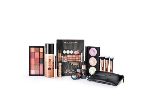 Makeup Revolution Molten Metallics Set