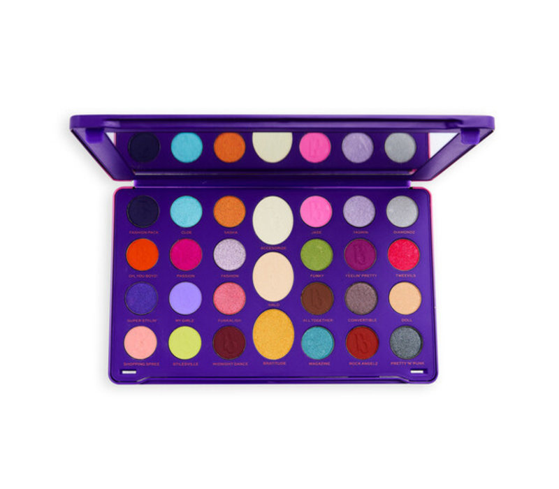 Makeup Revolution x Bratz Limitless Palette