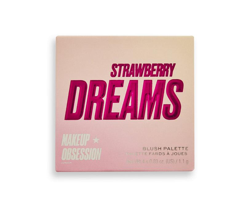 Makeup Obsession Blush Crush Palette Strawberry Dreams