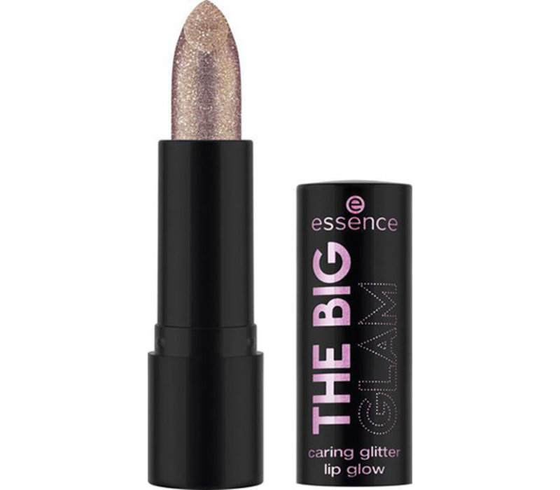 Essence The Big Glam Caring Glitter Lip Glow 02 Let It Bling