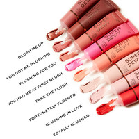Makeup Revolution Superdewy Liquid Blush Fake The Flush