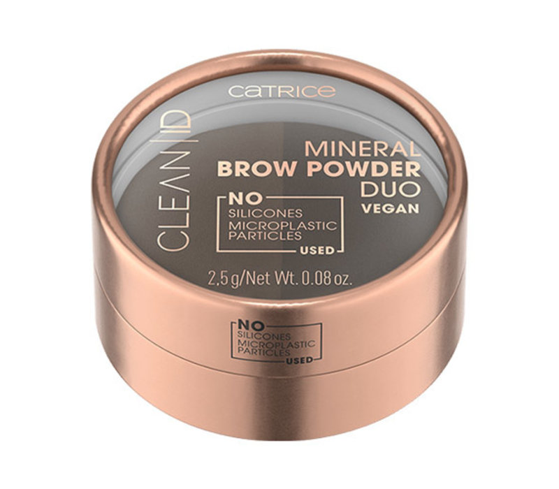 Catrice Clean ID Mineral Brow Powder Duo 020