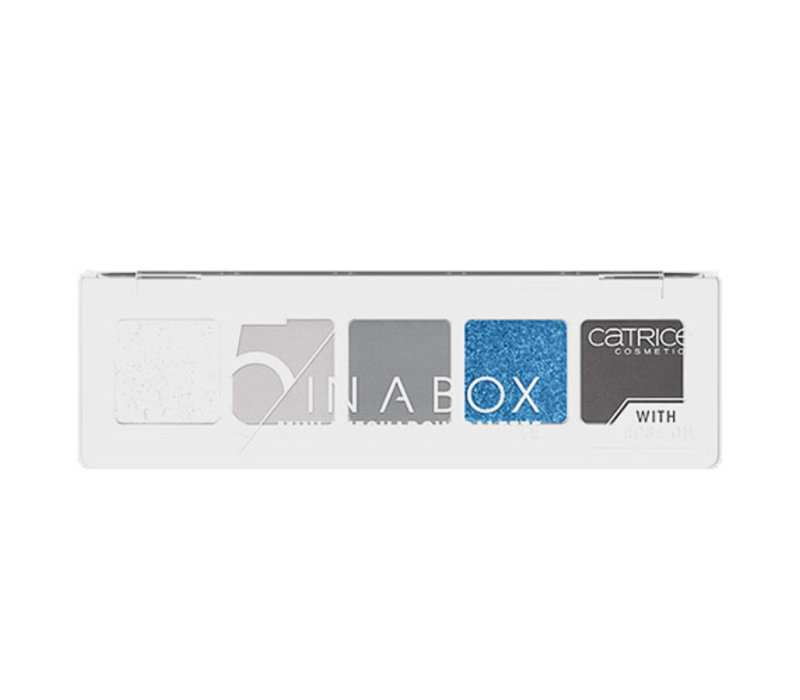 Catrice 5 In A Box Mini Eyeshadow Palette 050 Blue Smokey Look