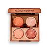 Revolution Pro Revolution Pro Goddess Glow Eye Quad Golden Hour Eyeshadow Palette