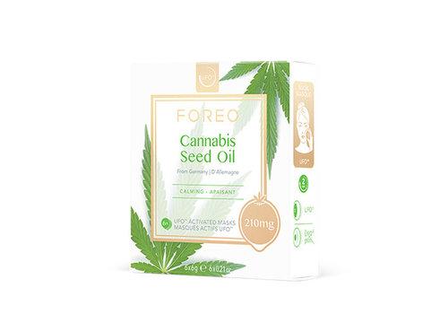 Foreo Farm To Face Sheet Masks Cannabis Seed Oil