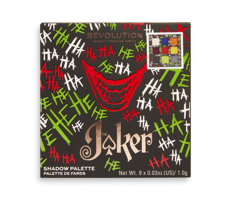 Makeup Revolution x Joker Why So Serious Shadow Palette