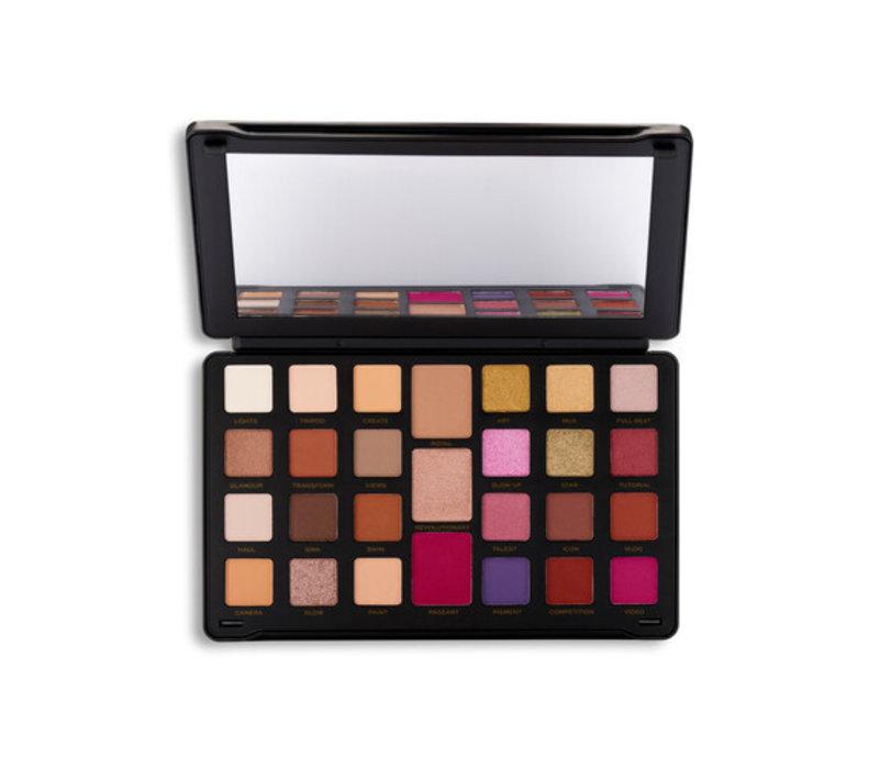 Makeup Revolution Creator Limitless Eyeshadow Palette Nude Reign