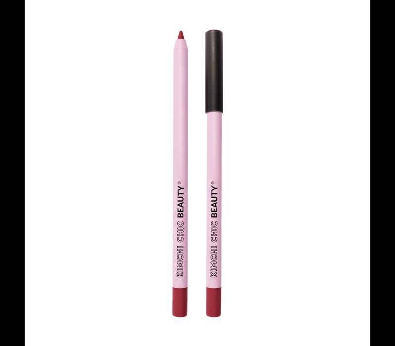 KimChi Chic Beauty Y.U.M. Pencil Lip Liner Beet Beet