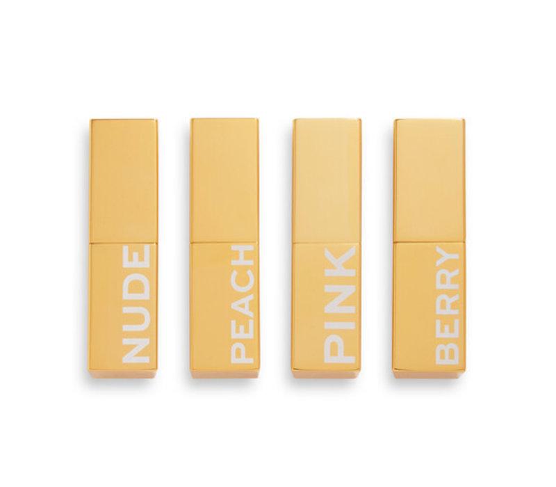 Revolution Pro Glow Lip Balm Collection
