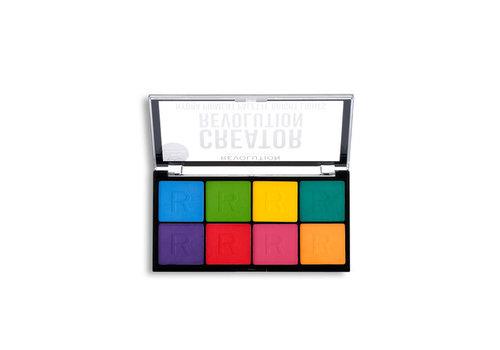 Makeup Revolution Creator Hydra Pigment Palette Bright Lights