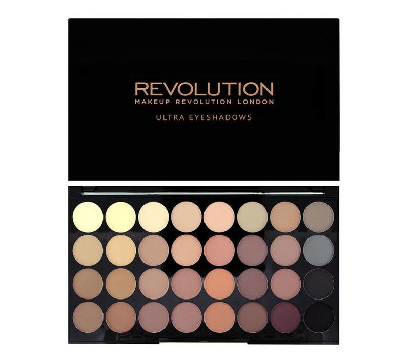 Makeup Revolution Ultra 32 Eyeshadow Palette Flawless Matte