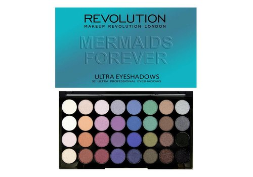 Makeup Revolution 32 Palette Mermaids Forever