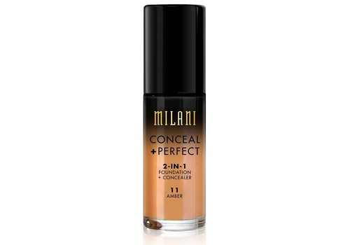 Milani 2-in-1 Foundation and Concealer 11 Amber