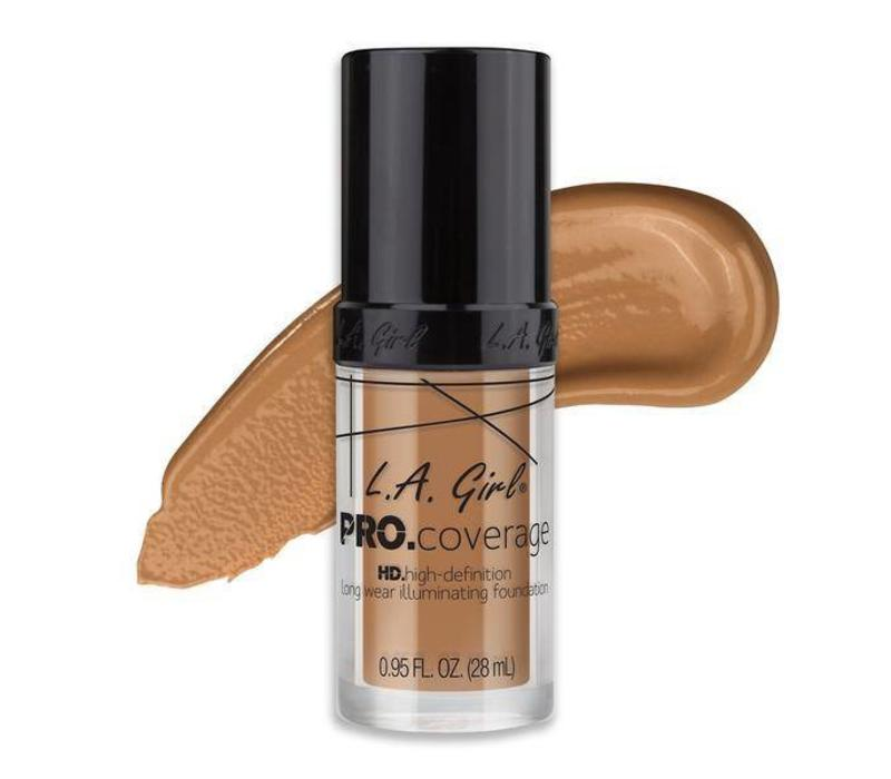 LA Girl Pro Coverage HD Liquid Foundation Beige