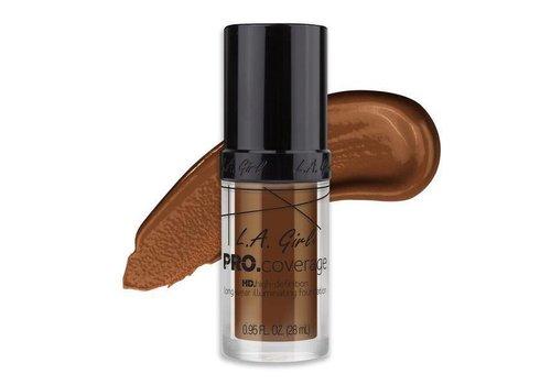 LA Girl HD Liquid Foundation Rich Cocoa