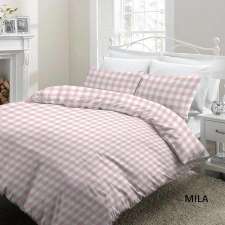 Cottons Dekbedovertrek Katoen Mila Pink