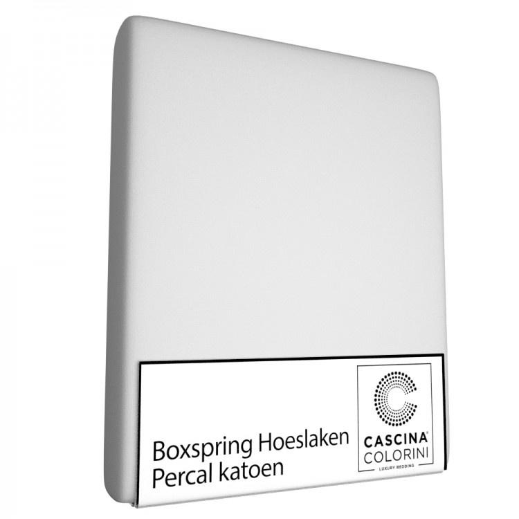 Cascina Colorini Hoeslaken Hoek 45cm Percale Silver