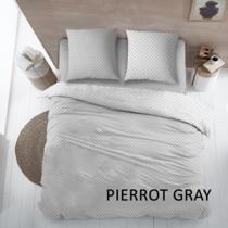 Dekbedovertrek Katoen Pierrot Gray