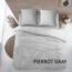 Cottons Dekbedovertrek Katoen Pierrot Gray