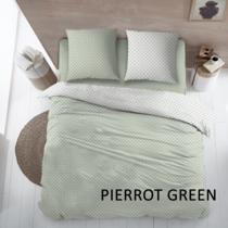 Dekbedovertrek Katoen Pierrot Green