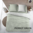 Cottons Dekbedovertrek Katoen Pierrot Green