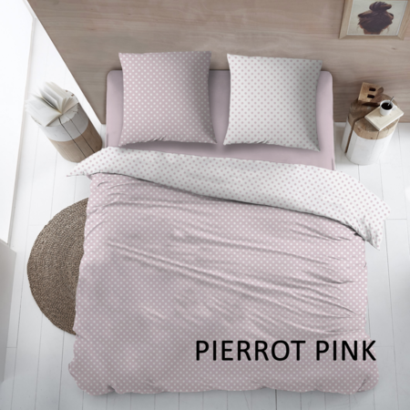 Cottons Dekbedovertrek Katoen Pierrot Pink