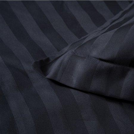 Damai Dekbedovertrek Satijn Linea Black Onyx