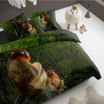 Dekbedovertrek Katoen Snub-Nosed Monkey