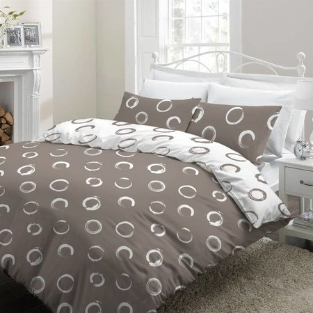 Cottons Lakenset Flanel Lieve Taupe