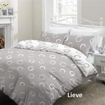 Lakenset Flanel Lieve Grey