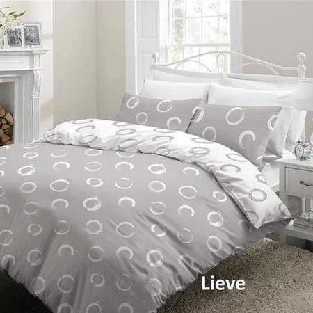 Cottons Lakenset Flanel Lieve Grey