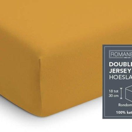 Romanette Hoeslaken Double Jersey Oker