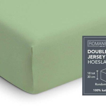 Romanette Hoeslaken Double Jersey Dusty Green