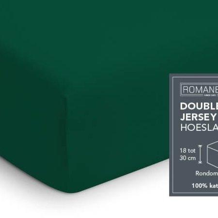 Romanette Hoeslaken Double Jersey Forest Green